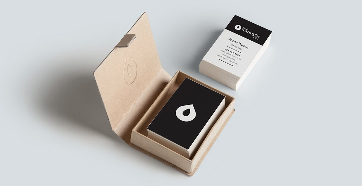 The Nutmylk Co. Business Cards