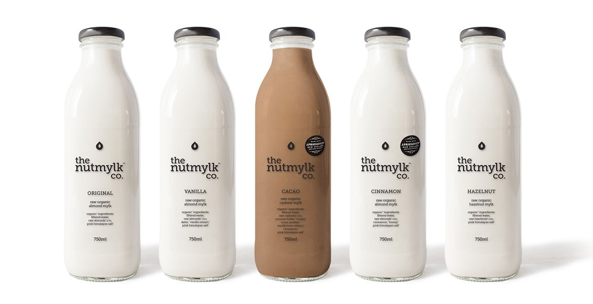 The Nutmylk Co. Packaging