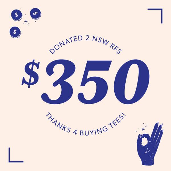 $350 Donation to NSW RFS