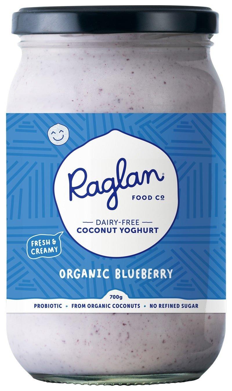 Raglan Coconut Yoghurt - Blueberry