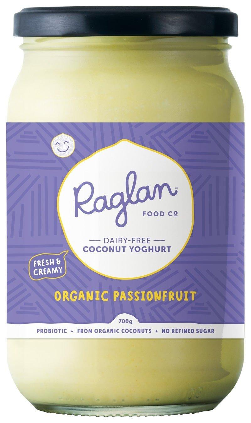 Raglan Coconut Yoghurt - Passionfruit
